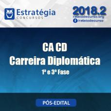CACD Carreira Diplomática 2018 - Estrategia