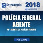PF Pós Edital 2018 - Polícia Federal Agente - E