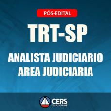 TRT-SP Pós Edital 2018 - ANALISTA JUDICIÁRIO (ÁREA JUDICIÁRIA) - TRT 2 - CERS