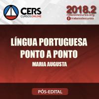 Língua Portuguesa - Ponto a Ponto - Maria Augusta - Cers 2018