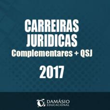 Carreiras Jurídicas + QSJ + Complementar 2017 - Damásio