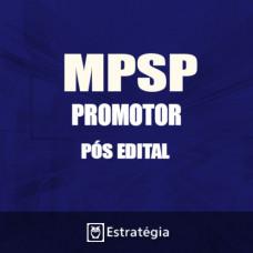 MP SP PÓS EDITAL 2017 – Ministério Público de São Paulo Promotor de Justiça - E
