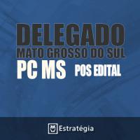 PCMS – DELEGADO Policia Civil do Mato Grosso do Sul - 2017