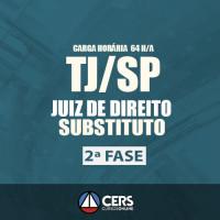 TJ SP - Segunda Fase Juiz Substituto do Tribunal de Justiça de São Paulo