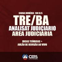 TRE BA -  Analista Judiciário TEORICO + AULÃO DE REVISÃO 2017