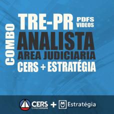 TRE PR  2017 - Analista Judiciário Área Judiciária - COMBO