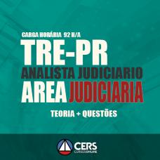 """TRE PR - Analista Judiciário - Área Judiciária - """"Projeto UTI"""""""