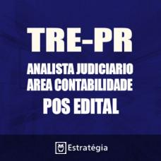 TRE PR Pós Edital 2017 – Analista Judiciário Área Contabilidade   – E