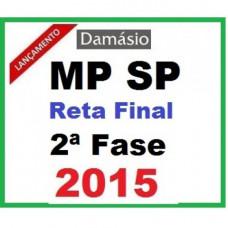 2ª SEGUNDA FASE MP SP ANALISTA Damásio
