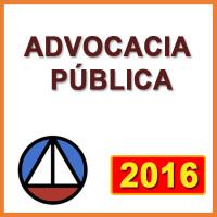 ADVOCACIA PÚBLICA  2016 - COMPLETO