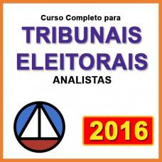 ANALISTA JUDICIÁRIO DE TRIBUNAIS ELEITORAIS  - 2016