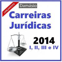 Carreiras Jurídicas 2014 Intensivo (Módulos I, II, III e IV)