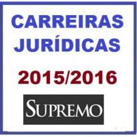 Carreiras Jurídicas 2016 SUPREMO