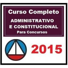 Curso Completo CONSTITUCIONAL e ADMINISTRATIVO para Concursos 2015