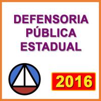 DEFENSORIA PÚBLICA ESTADUAL  - 2016
