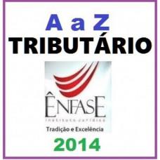 Direito Tributário - A a Z - 2014 (considerado pós graduação)