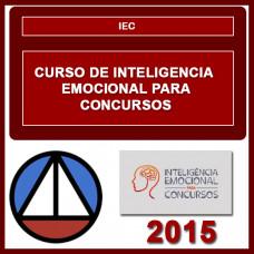 IEC - INTELIGÊNCIA EMOCIONAL PARA CONCURSOS COACH