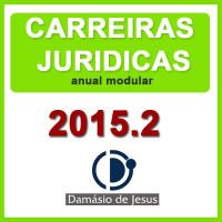 Intensivo Modular Anual Carreiras Jurídicas 2015.2
