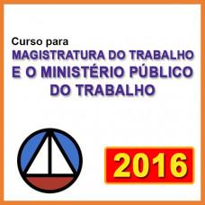 MAGISTRATURA DO TRABALHO E O MINISTÉRIO PÚBLICO DO TRABALHO