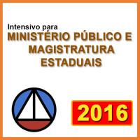 MINISTÉRIO PÚBLICO E MAGISTRATURA ESTADUAIS