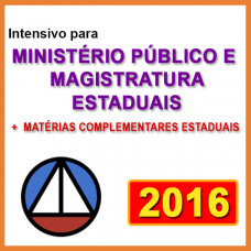 MP E MAGISTRATURA ESTADUAIS +  COMPLEMENTARES
