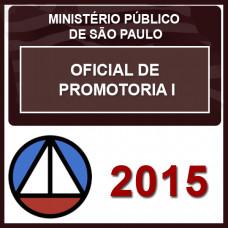 MP SP - OFICIAL DE PROMOTORIA I  -  TEORIA E  QUESTÕES DA VUNESP