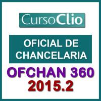 OFCHAN 360 (Oficial de Chancelaria) CLIO 2015.2