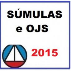 Súmulas e OJS Informativos do TST 2015