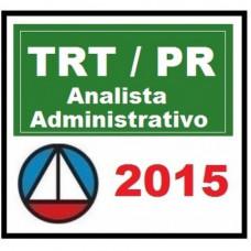 TRT PR (Paraná TRT9) - Analista Administrativo 2015