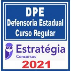 Defensoria Pública Estadual (Curso Regular) - DPE 2021 (E)