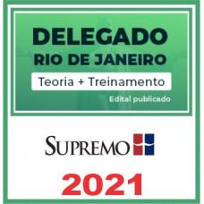 PC RJ (Delegado - DPC RJ) Pós Edital - Supremo 2021