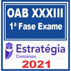 OAB 1 FASE XXXIII (33) Exame da Ordem 2021 |E