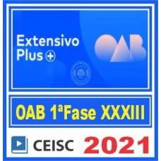 OAB 1 Fase XXXIII Exame (Extensivo Plus) 2021 - C