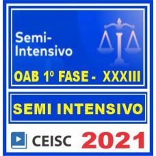 OAB 1 Fase XXXIII (Semi-Intensivo) 2021 C
