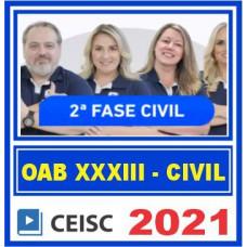 OAB 2 FASE XXXIII 33 (CIVIL) 2021