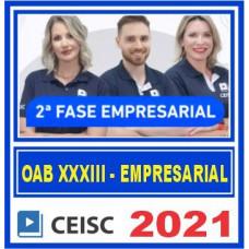 OAB 2 FASE XXXIII 33 (EMPRESARIAL) 2021