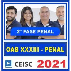 OAB 2 FASE XXXIII 33 (PENAL) 2021
