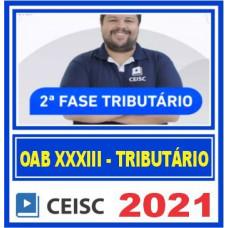 OAB 2 FASE XXXIII 33 (TRIBUTÁRIO) 2021