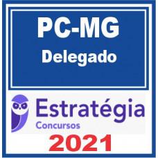 PC MG (Delegado) Policia Civil de MG 2021 - E