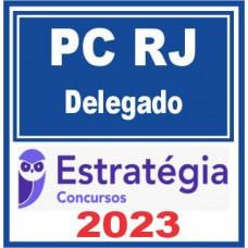 PC RJ (Delegado) Pós Edital - Estratégia 2021
