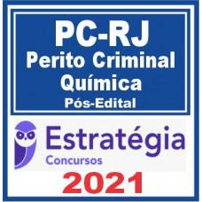 PC RJ (Perito Criminal – Química) Pós Edital 2021
