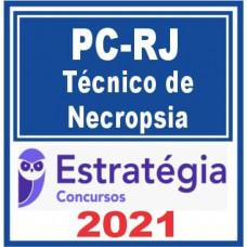 PC RJ (Técnico de Necropsia) 2021