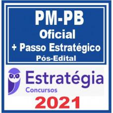PM PB (Oficial + Passo) Pós Edital 2021 - E