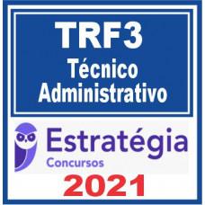 TRF 3 (Técnico Administrativo) 2021 - Pré Edital