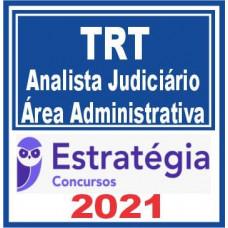 TRTs Regular (Analista Administrativa) 2021 - E