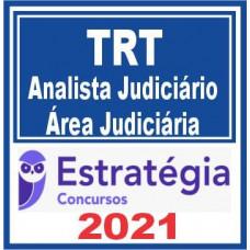 TRTs Regular (Analista Judiciário) 2021 - E