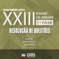 1ª Fase OAB XXIII Exame - Questões 2017 (Exame de Ordem)