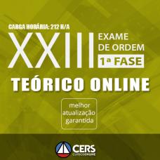 1ª Fase OAB XXIII Exame - Teórico 2017 (Exame de Ordem)