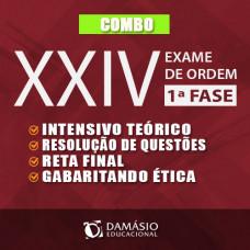 OAB XXIV 1ª FASE - COMBO DAMÁSIO - INTENSIVO - QUESTÕES - RF