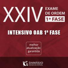 OAB XXIV 1ª FASE - INTENSIVO TEÓRICO ONLINE 2017 - DAMÁSIO